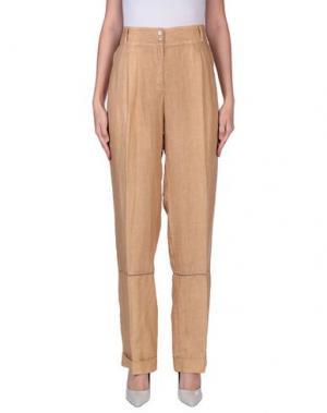 Повседневные брюки MAURICE ABOT. Цвет: верблюжий
