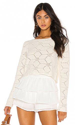 Пуловер dana Tularosa. Цвет: белый