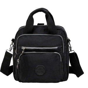 Сумки-портфели большей емкости SHEIN. Цвет: чёрный