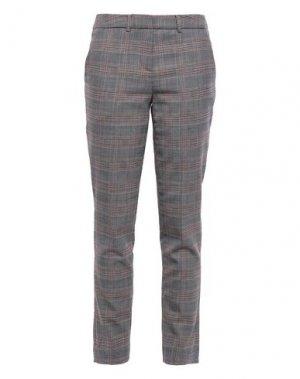 Повседневные брюки BA&SH. Цвет: серый