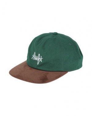 Головной убор HUF. Цвет: зеленый