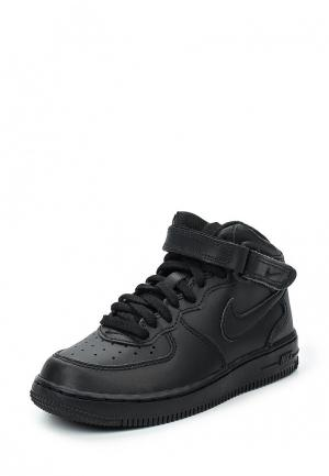 Кроссовки Nike Boys Air Force 1 Mid (PS) Pre-School Shoe. Цвет: черный