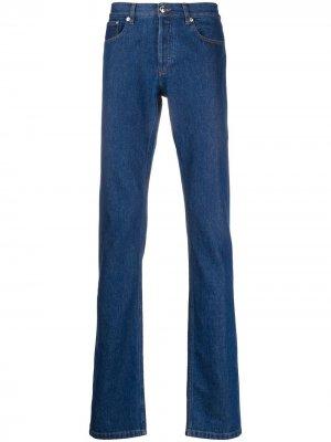 Прямые джинсы A.P.C.. Цвет: синий