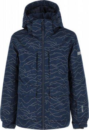 Куртка утепленная для мальчиков , размер 164 Glissade. Цвет: синий