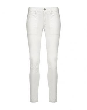 Повседневные брюки JOIE. Цвет: белый