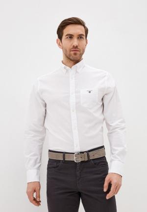 Рубашка Gant Exclusive for Lamoda. Цвет: белый