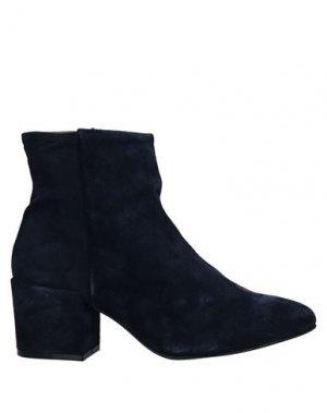 Полусапоги и высокие ботинки JOSEPHINE. Цвет: темно-синий