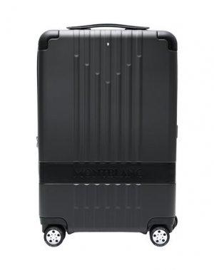 Чемодан/сумка на колесиках MONTBLANC. Цвет: черный