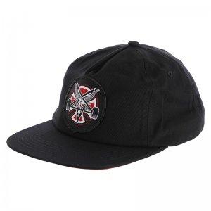 Бейсболка x Thrasher Pentagram Cross Adjustable Independent. Цвет: черный