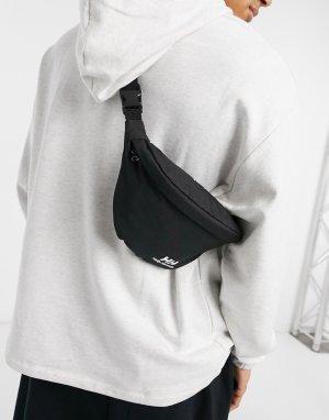 Черная сумка-кошелек на пояс YU-Черный цвет Helly Hansen
