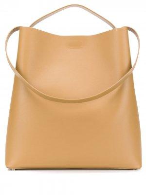 Большая сумка на плечо Sac Aesther Ekme. Цвет: коричневый