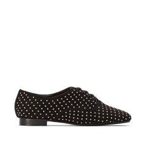 Ботинки-дерби La Redoute. Цвет: черный