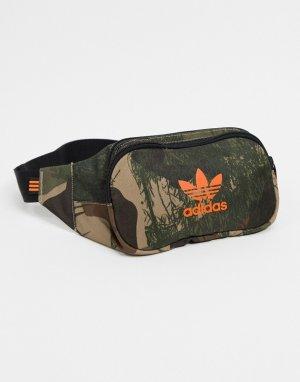 Зеленая сумка-кошелек -Зеленый цвет adidas Originals