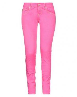 Повседневные брюки MAISON CLOCHARD. Цвет: фуксия