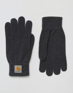 Перчатки Watch-Серый Carhartt WIP