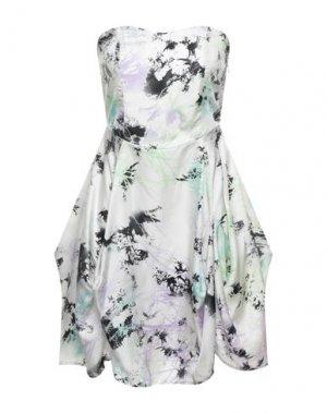 Короткое платье FULL CIRCLE. Цвет: слоновая кость