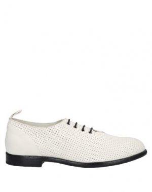 Обувь на шнурках ERNESTO DOLANI. Цвет: белый