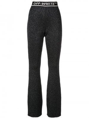 Трикотажные брюки с завышенной талией Off-White