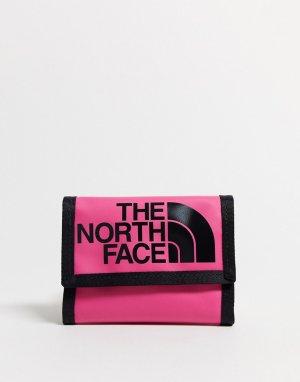 Темно-розовый бумажник Base Camp The North Face