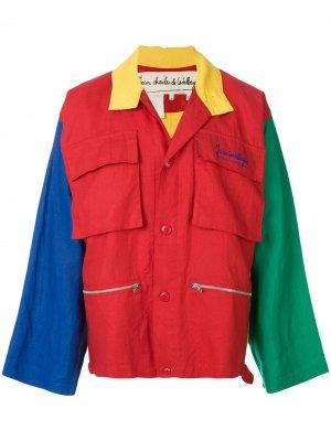 Куртка 1980-х годов в стиле колор-блок JC de Castelbajac Pre-Owned. Цвет: разноцветный