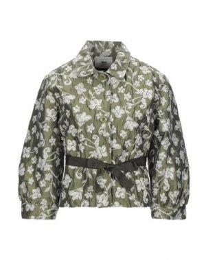 Пиджак B.YU. Цвет: зеленый