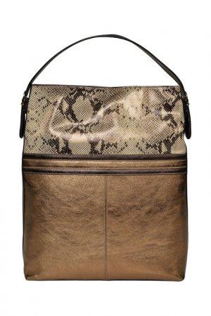 Bag CARLA FERRERI. Цвет: gold