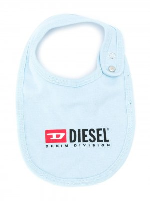 Нагрудник с логотипом Diesel Kids. Цвет: синий