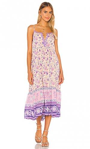 Платье миди portobello road Spell & The Gypsy Collective. Цвет: фиолетовый