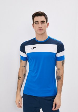 Футболка спортивная Joma CREW IV. Цвет: синий