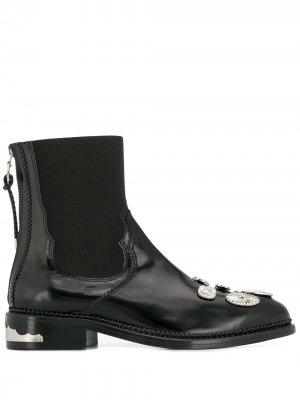Ботинки челси Toga Pulla. Цвет: черный