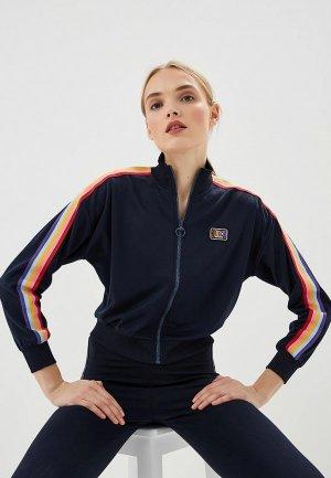 Олимпийка Juicy by Couture. Цвет: синий