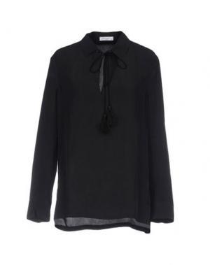Блузка EQUIPMENT. Цвет: черный