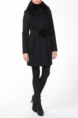 Пальто Exclusive. Цвет: черный
