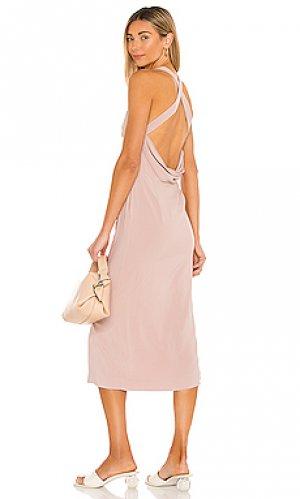 Платье ashley Tularosa. Цвет: сиреневый