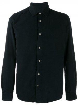 Вельветовая рубашка Altea. Цвет: синий