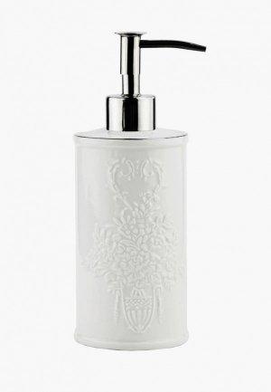 Дозатор для мыла Wasserkraft. Цвет: белый