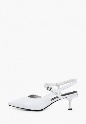 Туфли Covani. Цвет: белый