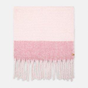 Шарфы Colorblock Blanket Scarf With Fringe Timberland. Цвет: розовый