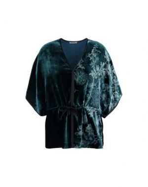 Блузка MILA ZB. Цвет: цвет морской волны