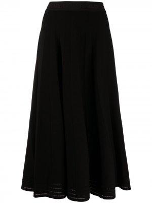 Юбка с люрексом Karl Lagerfeld. Цвет: черный
