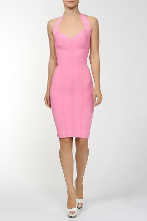 Платье Herve L.Leroux. Цвет: розовый