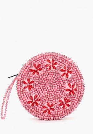 Клатч Skinnydip Queenie Clutch - Pink. Цвет: розовый