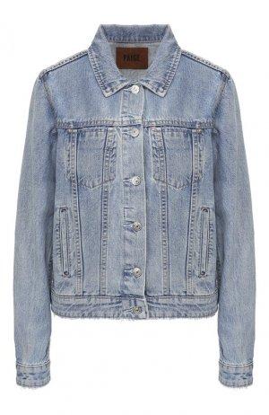 Джинсовая куртка Paige. Цвет: синий