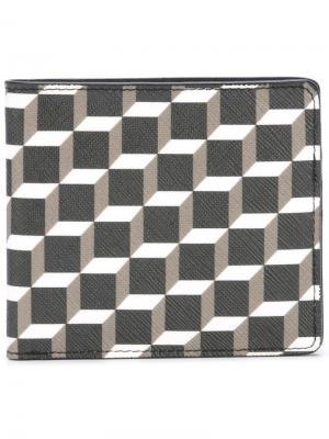 Бумажник с геометрическим узором Pierre Hardy. Цвет: none
