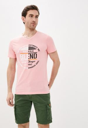 Футболка Blend. Цвет: розовый