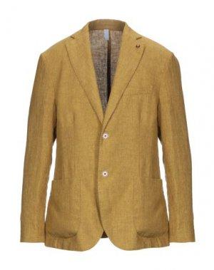 Пиджак HARMONT&BLAINE. Цвет: охра