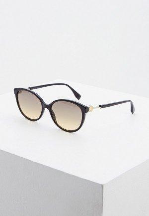 Очки солнцезащитные Fendi FF 0373/S 807. Цвет: черный