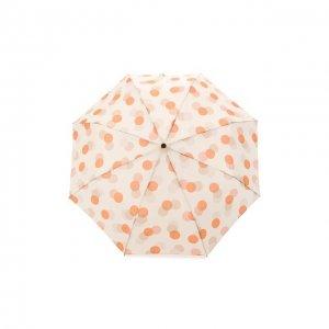 Складной зонт Doppler. Цвет: бежевый