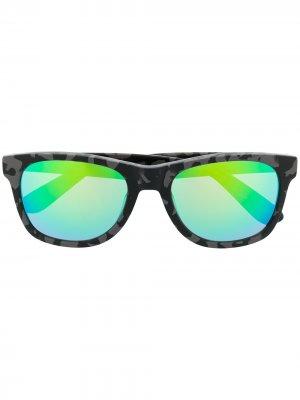 Солнцезащитные очки с принтом из коллаборации Fergus Purcell Vans. Цвет: черный