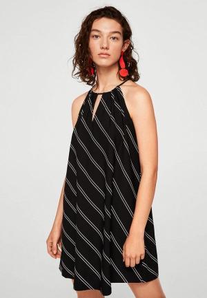Платье Mango - VERI. Цвет: черный